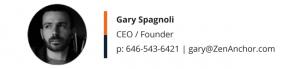 Gary Spagnoli Zen Anchor